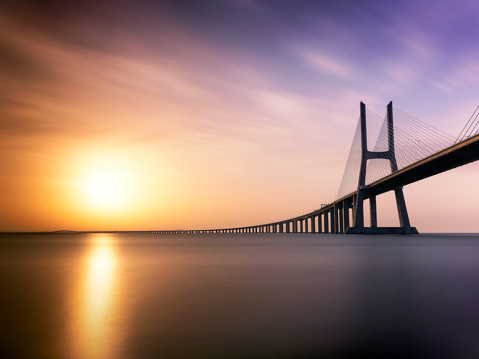 brown concrete bridge during daytime